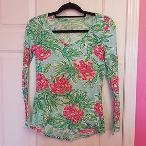 Lilly Pulitzer Spike The Punch Longsleeve Tee